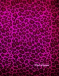 cahier pink leopard